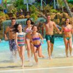 Rodzinne plażowanie w Portugalii