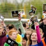 Prawie 400 dzieci z Domów Dziecka kibicowało na Mistrzostwach Europy UEFA Under-