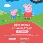 Dzień Dziecka ze Świnką Peppą w Avenidzie Poznań