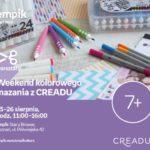 Weekend kolorowego mazania z Creadu | Empik Stary Browar