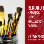 Uczniowie z SP nr 32 w Sosnowcu będą bić Rekord Polski w patriotycznym malowaniu