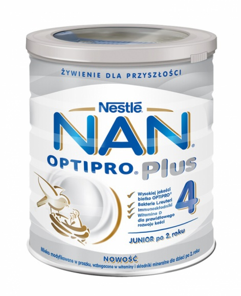 Nowe mleko modyfikowane dla dzieci po 2. roku życia LIFESTYLE, Dziecko - Maluch po drugich urodzinach jest już dużym dzieckiem, jednak jego potrzeby żywieniowe wciąż znacząco różnią się od potrzeb osób dorosłych. Nestlé rozszerzyło właśnie linię mlek modyfikowanych o NAN OPTIPRO® Plus 4 przeznaczone właśnie dla maluszków po drugim roku.