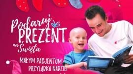 Podaruj prezent! Pomóż sprawić radość na święta dzieciom chorym na nowotwory LIFESTYLE, Dziecko - Jak co roku, Fundacja Na Ratunek Dzieciom z Chorobą Nowotworową, rusza z wyjątkową, świąteczną akcją PODARUJ PREZENT małym pacjentom kliniki Przylądek Nadziei.