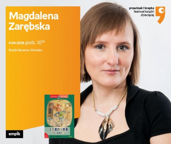 Magdalena Zarębska we Wrocławiu LIFESTYLE, Dziecko - Festiwal Książki Dziecięcej Przecinek i Kropka