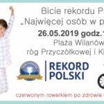 W piżamach będą ustanawiać Rekord Polski dla małego Franka