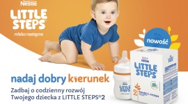LITTLE STEPS® 2. Nowe mleko następne dla zdrowego rozwoju dziecka LIFESTYLE, Dziecko - Karmienie piersią jest najlepszym sposobem żywienia niemowląt. Co jednak, jeśli dziecko nie jest już karmione piersią? Poznajcie LITTLE STEPS® 2 z żelazem*, wapniem* i witaminą D*. Mleko następne dla rodziców, którzy chcą dostarczyć swoim dzieciom to, czego naprawdę potrzebują.