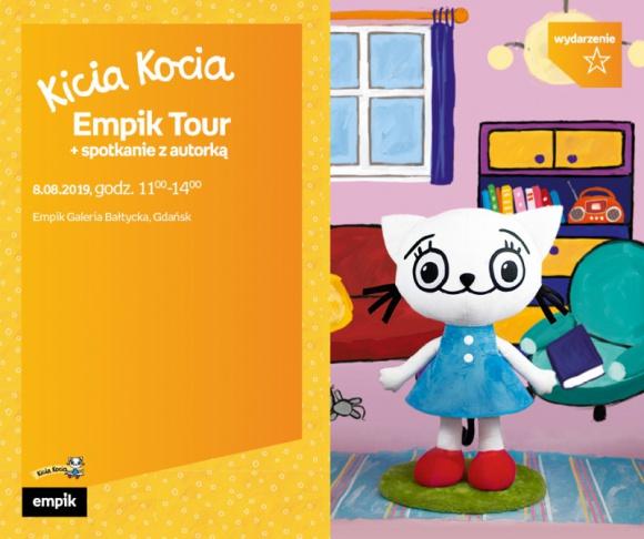 Kicia Kocia Empik Tour   Empik Galeria Bałtycka Gdańsk LIFESTYLE, Dziecko - spotkanie