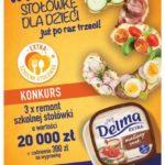 """""""Extra Szkolna Stołówka"""" - rusza 3. edycja programu marki Delma"""