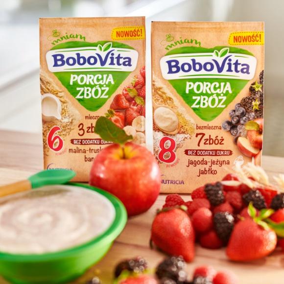 Odkryj to, co dobre dla maluszka – 6 nowych smaków kaszek BoboVita PORCJA ZBÓŻ LIFESTYLE, Dziecko - BoboVita wie, że produkty zbożowe to ważny element diety najmłodszych, dlatego z myślą o nich wprowadziła 6 nowych smaków kaszek BoboVita PORCJA ZBÓŻ.