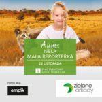Przedmikołajkowe spotkanie z Nelą Małą Reporterką w Zielonych Arkadach