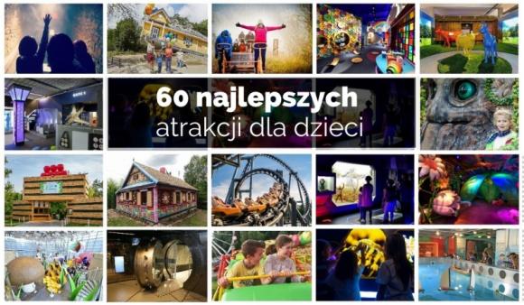 Ruszyło głosowanie na najlepsze atrakcje dla dzieci 2020 LIFESTYLE, Dziecko - Serwis dzieckowpodrozy.pl co roku publikuje zestawienie 60 najlepszych atrakcji dla dzieci. O tym, w jakiej kolejności znajdą się w rankingu decydują w głosowaniu ich fani. Tegoroczna edycja jest już dostępna w serwisie, a zbieranie głosów potrwa do 30 stycznia 2020.
