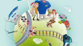 Rogatek powraca na ekrany! LIFESTYLE, Dziecko - Kampania Kolejowe ABC startuje w kolejnej, nowej odsłonie. Ruszyła emisja spotów z głównym bohaterem akcji – nosorożcem Rogatkiem.