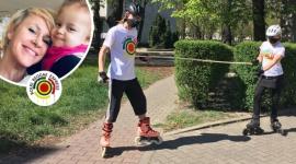 Wszędzie, ale razem! W całej Polsce będą ćwiczyć, żeby pomóc małej Kai wygrać z LIFESTYLE, Dziecko - Na rolkach, na rowerach, biegiem, a nawet chodząc po schodach. Już ponad 700 osób zadeklarowało, że 2 maja wyjdzie z domu żeby spalić nadmiar kalorii po kwarantannie. I przy okazji pomóc dwuletniej dziewczynce zebrać pieniądze na leczenie wyjątkowo złośliwego nowotworu.