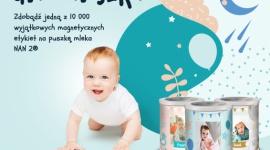 Puszka dla Maluszka od NAN 2 LIFESTYLE, Dziecko - W Kreatywnej Pracowni NAN 2 możesz zaprojektować wyjątkową etykietę magnetyczną z imieniem i zdjęciem swojego maluszka!