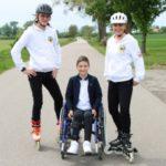 Na ratunek chłopcu, który nie czuje bólu. 27 maratonów na rolkach w 27 dni