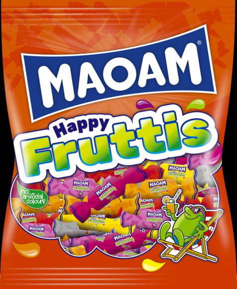 HAPPY FRUTTIS – kolorowa zabawa dla łasuchów w każdym wieku! LIFESTYLE, Dziecko - MAOAM Happy Fruttis to mix owocowych inspiracji.