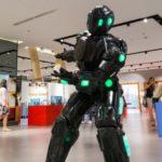 Interaktywna wystawa robotów w Atrium Reduta
