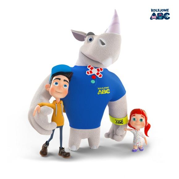 Rogatek wraca na ekrany - jesienne nowości w Kampanii Kolejowe ABC LIFESTYLE, Dziecko - Dzieci mogą już oglądać najnowszy spot edukacyjny Kampanii Kolejowe ABC, w którym bohater akcji, nosorożec Rogatek, uczy kulturalnego podróżowania pociągiem.