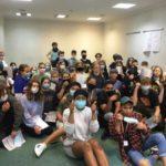 Edukacyjne warsztaty w sanitarnym reżimie. Białostoccy uczniowie na Euroweek